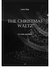 The Christmas Waltz for violin and piano